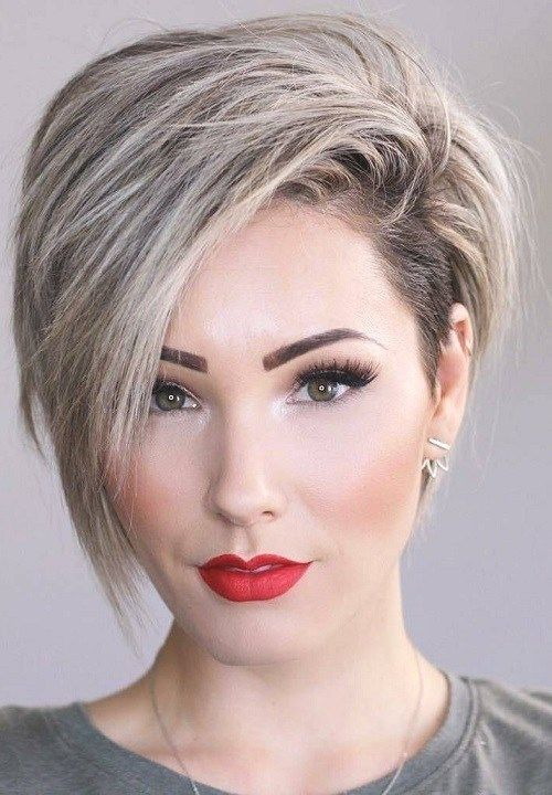 20 Most Flatterings Short Hairstyles For Round Faces ...