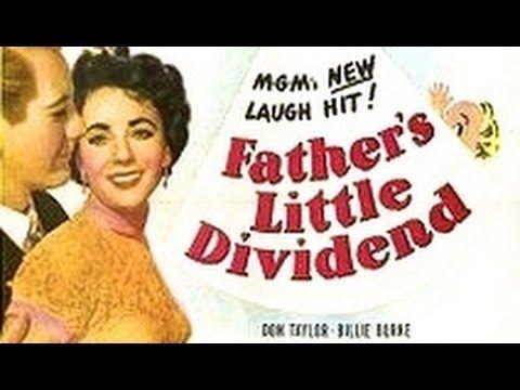 Father's Little Dividend (1951) Elizabeth Taylor, Spencer Tracy, Vincent Minnelli