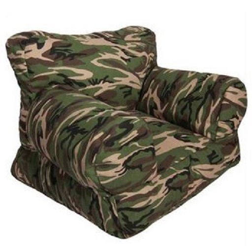 Beanbag Chair For Kids Army Camouflage Furniture Bean Bag Green Brown Toddler Comfortresearch Bean Bag Chair Toddler Chair Kids Seating