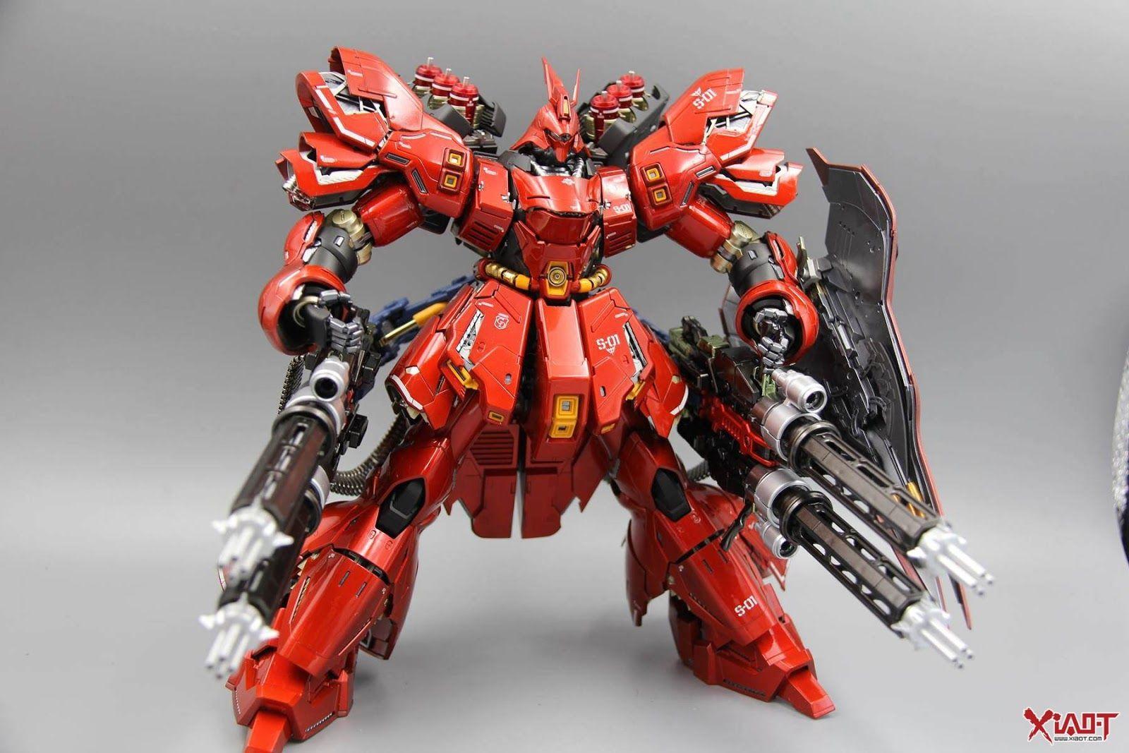 MG 1/100 Sazabi Ver Ka Customized Build Gundam