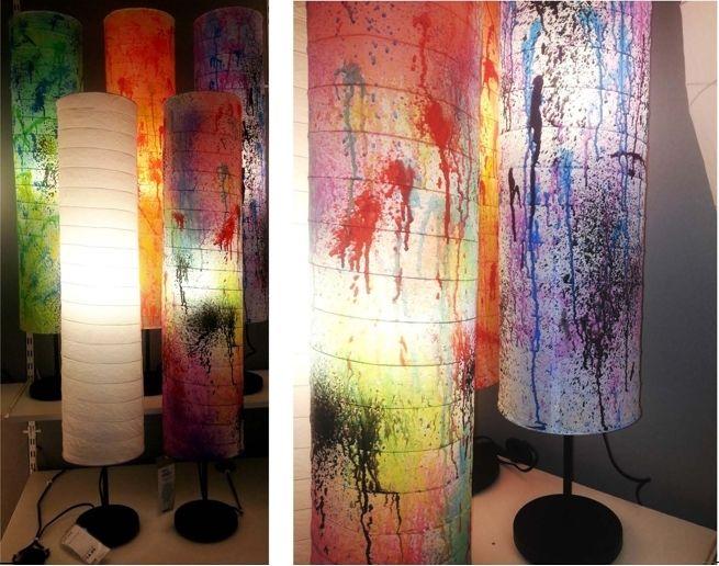 Diy Holm Lamp Create Original Paper Floor Ikea Design