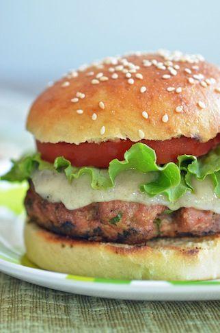 Almond Turkey Burger - WI-1