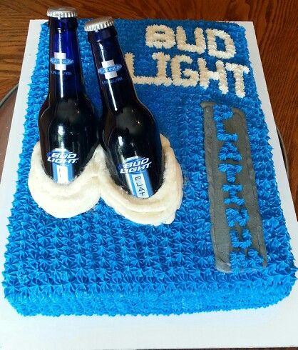 bud light platinum cake