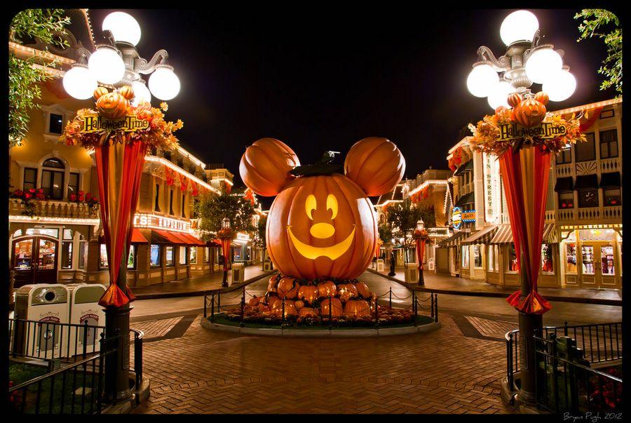 Halloween Time at Disneyland\
