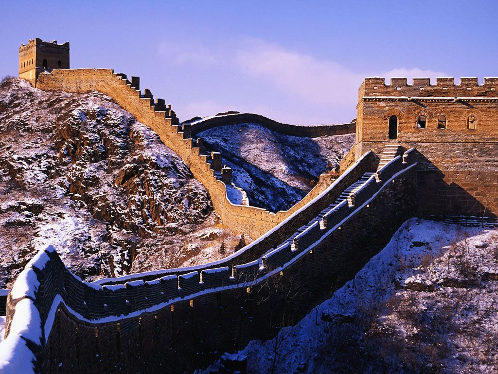 The The Great Wall In The Snowgive A Person Different Feeling My