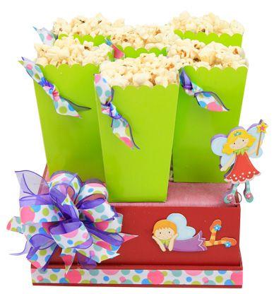 bolsas de palomitas para decorar tu barra de dulces para fiestas infantiles
