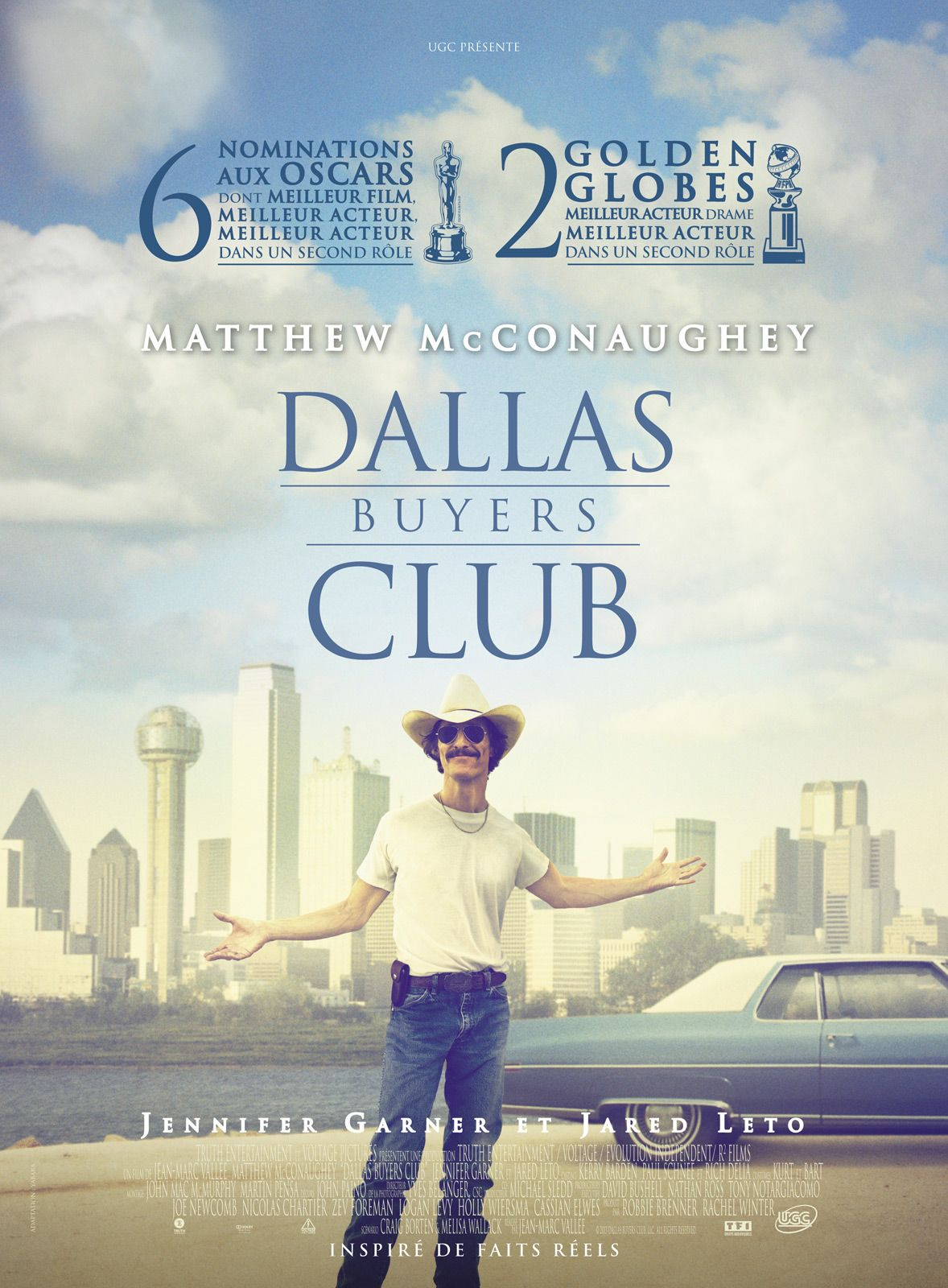 Dallas Buyers Club Est Un Film De Jean Marc Vall 233 E Avec