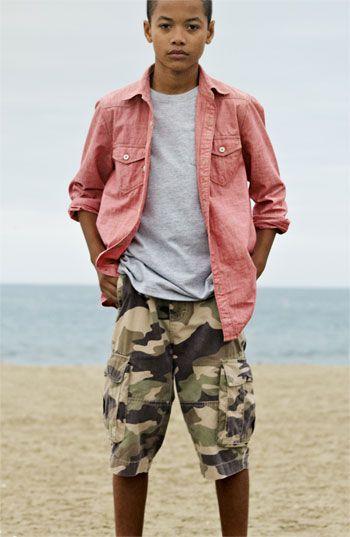 44fe616169 Tucker + Tate Chambray Shirt, T-Shirt Jeans (Big Boys)   Nordstrom ...