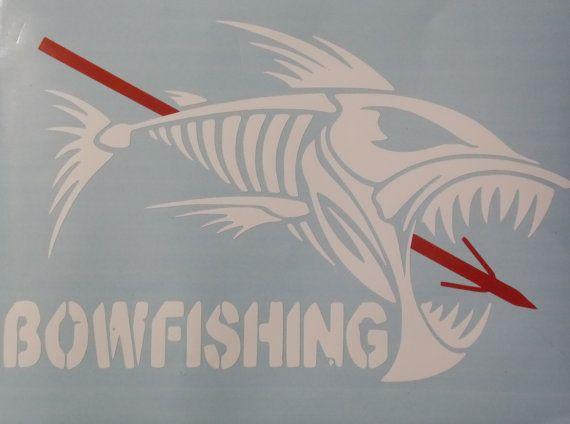 Pix For Gt Bowfishing Decals Bowfishing Arcos