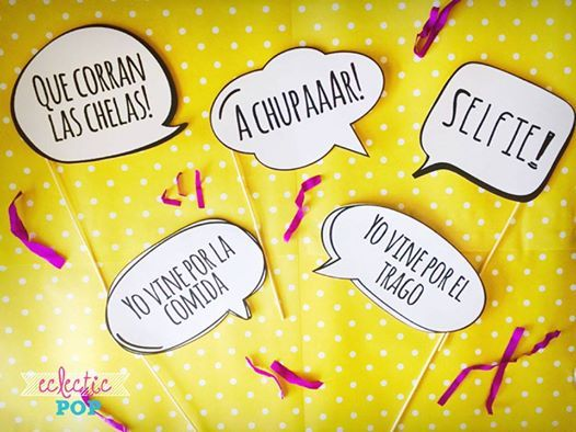 Frases Para Photobooth Eclectic Pop Eclecticpop Eventos