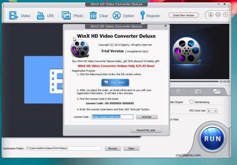 winx hd video converter deluxe license key