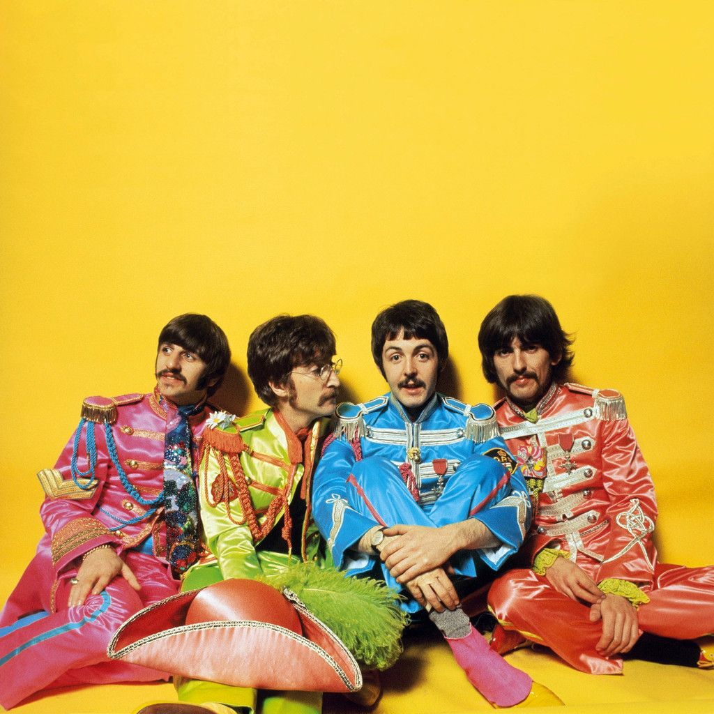 The Beatles | Colourful Life - Group Board | The beatles
