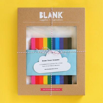 Draw your dreams pillowcase art from Blank Goods & Draw your dreams pillowcase art from Blank Goods   BM Kids ... pillowsntoast.com