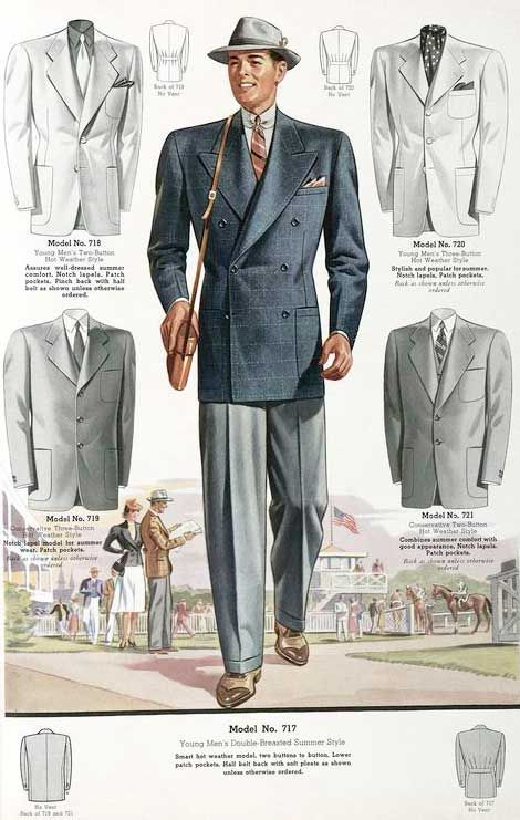 1930s Men's Suits- History in Pictures | 1930s, Gatsby and ...