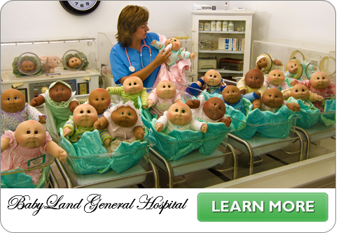 Baby Land General Hospital In Cleveland Ga Patch Kids Cabbage Patch Dolls Cabbage Patch