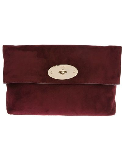 5fd759718eb2 MULBERRY - oversize Clemmie clutch 7