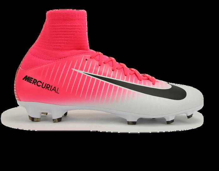 Nike Kids Mercurial Superfly V Fg Racer Pink Black White Soccerlife Nike Soccer Shoes Girls Soccer Cleats Soccer Boots