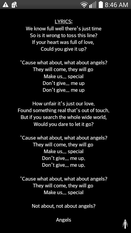 Lyric not about angels lyrics : Birdy-not about angels❤ my favorite song | Music quotes and ...