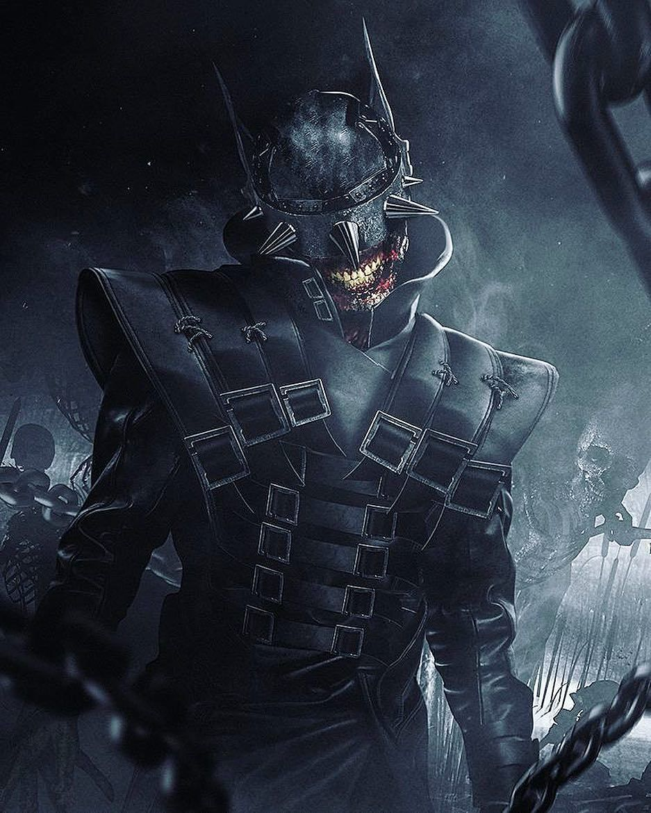 Nomoremutants Bosslogic Rendition Of The Batman Who Laughs From