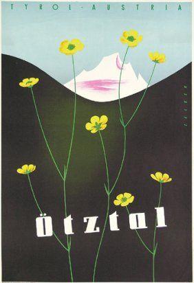Original Reise Plakate Austria Posters 3 1955 Vintage Travel Posters Austria Travel Poster Vintage Posters