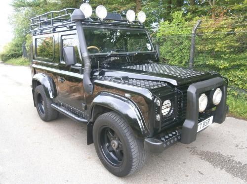 Used Diesel Land Rover Defender 90 Td5 County Black 2005 Land
