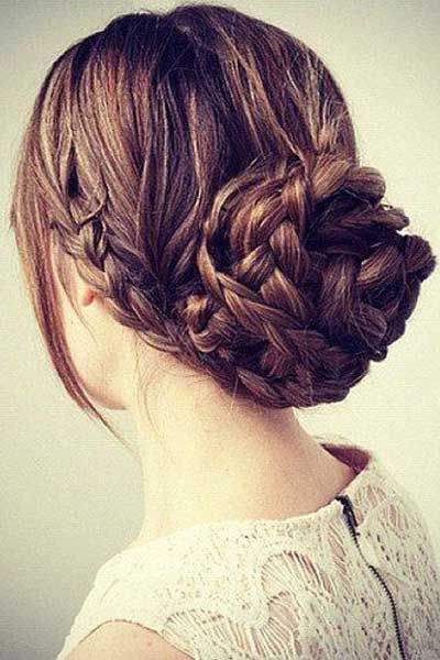 15 Must Try Party Hair Ideas From Pinterest Thick Hair Styles Fancy Hairstyles Hair Styles