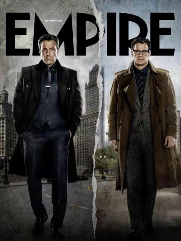 Bruce Wayne and Clark Kent