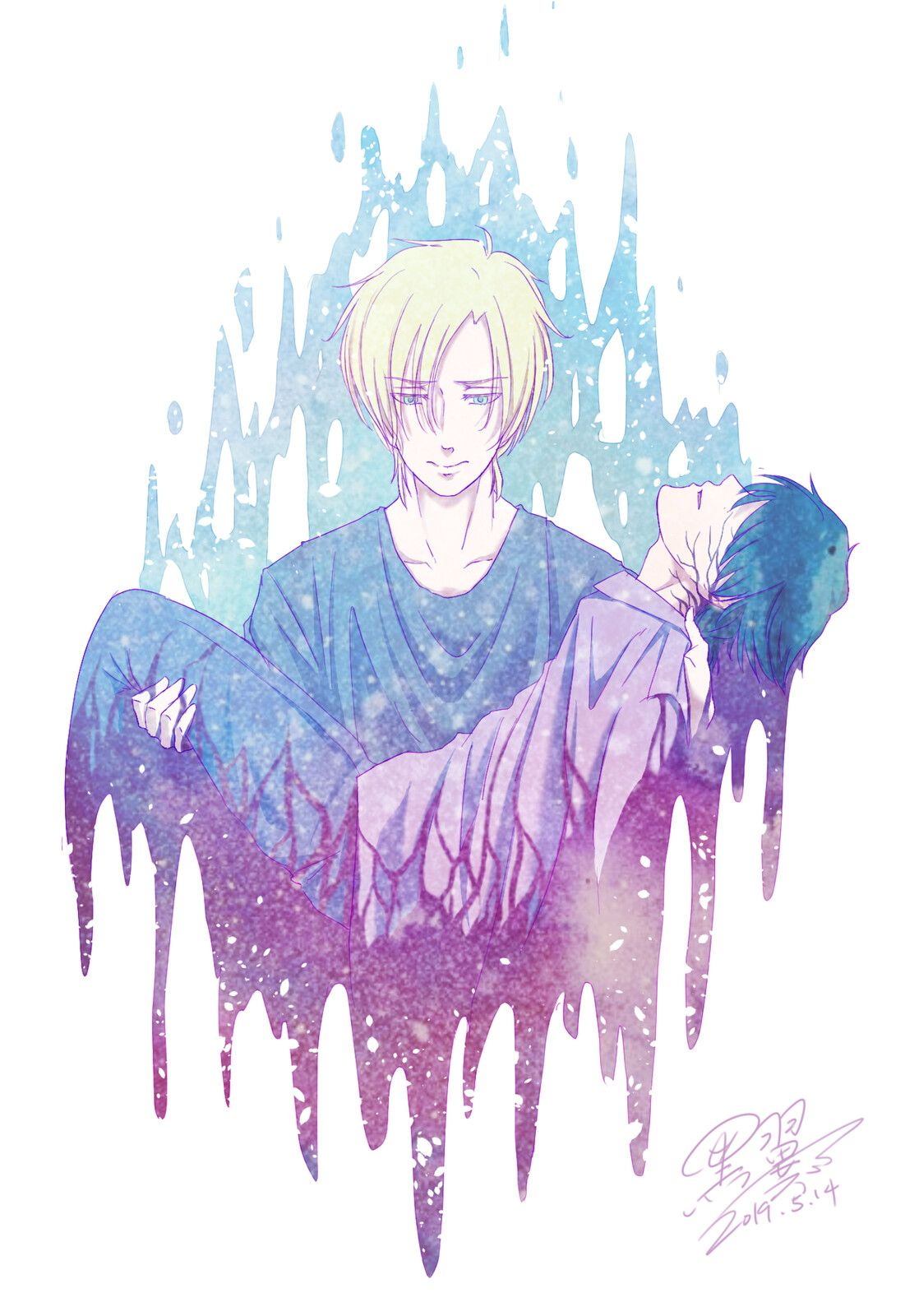 Photo of Fan Art (Banana Fish), BlackWing BinLan