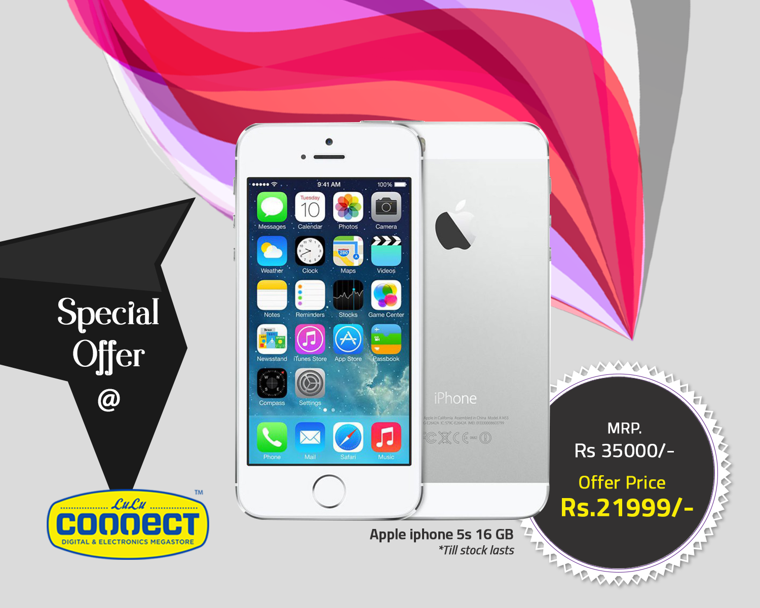 It S Now Or Never Get Hold Of This Stunning Offer From Lulu Connect Grab This Special Offer Hurry For More Super Apple Iphone 5s Iphone 5s Special Offer