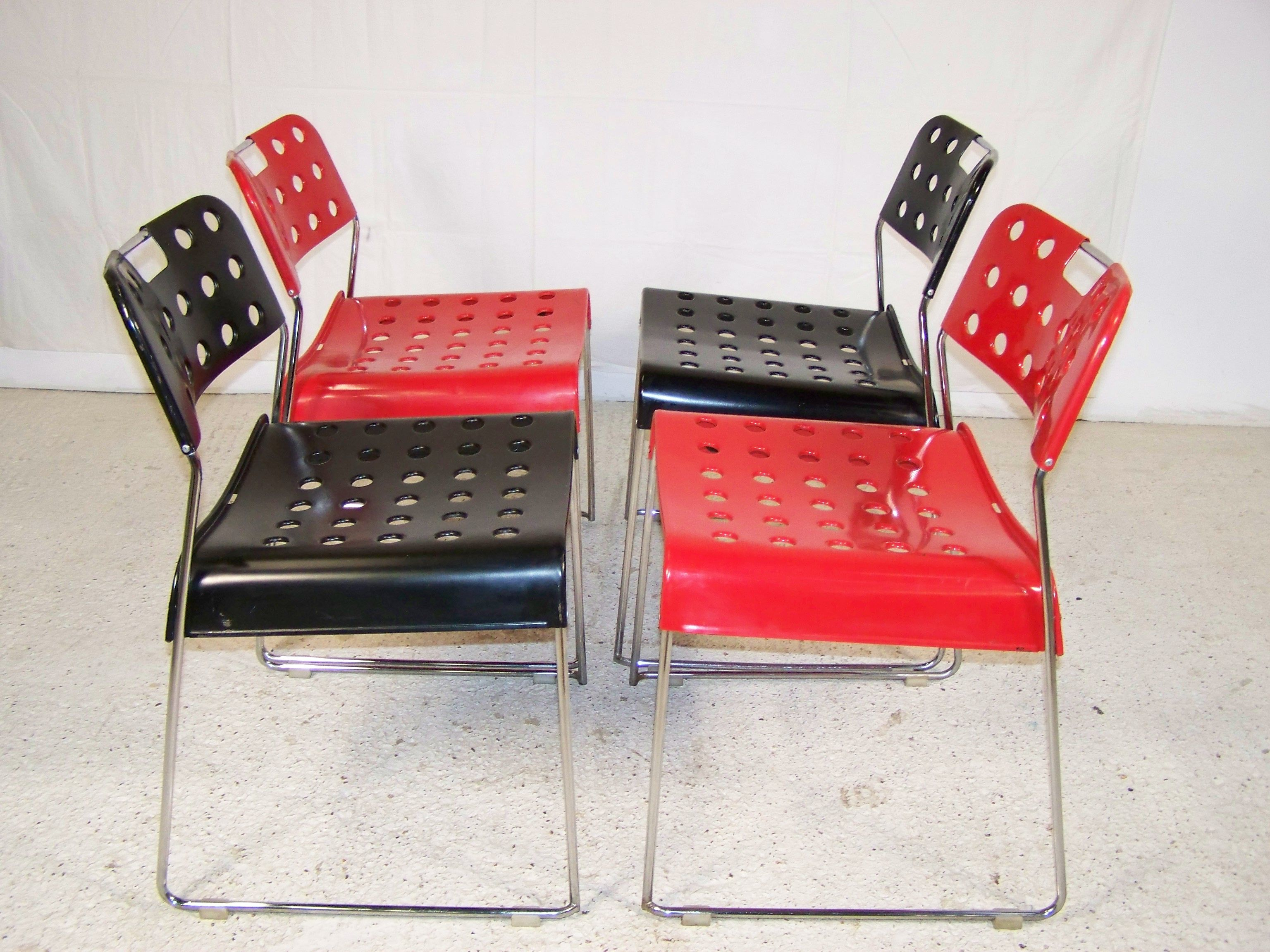 Retro Omkstak Staking Omk Chairs Rewind Interiors Vintage  # Rewind Muebles Vintage