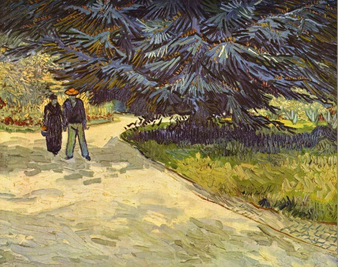 Couple in the Park,Arles
