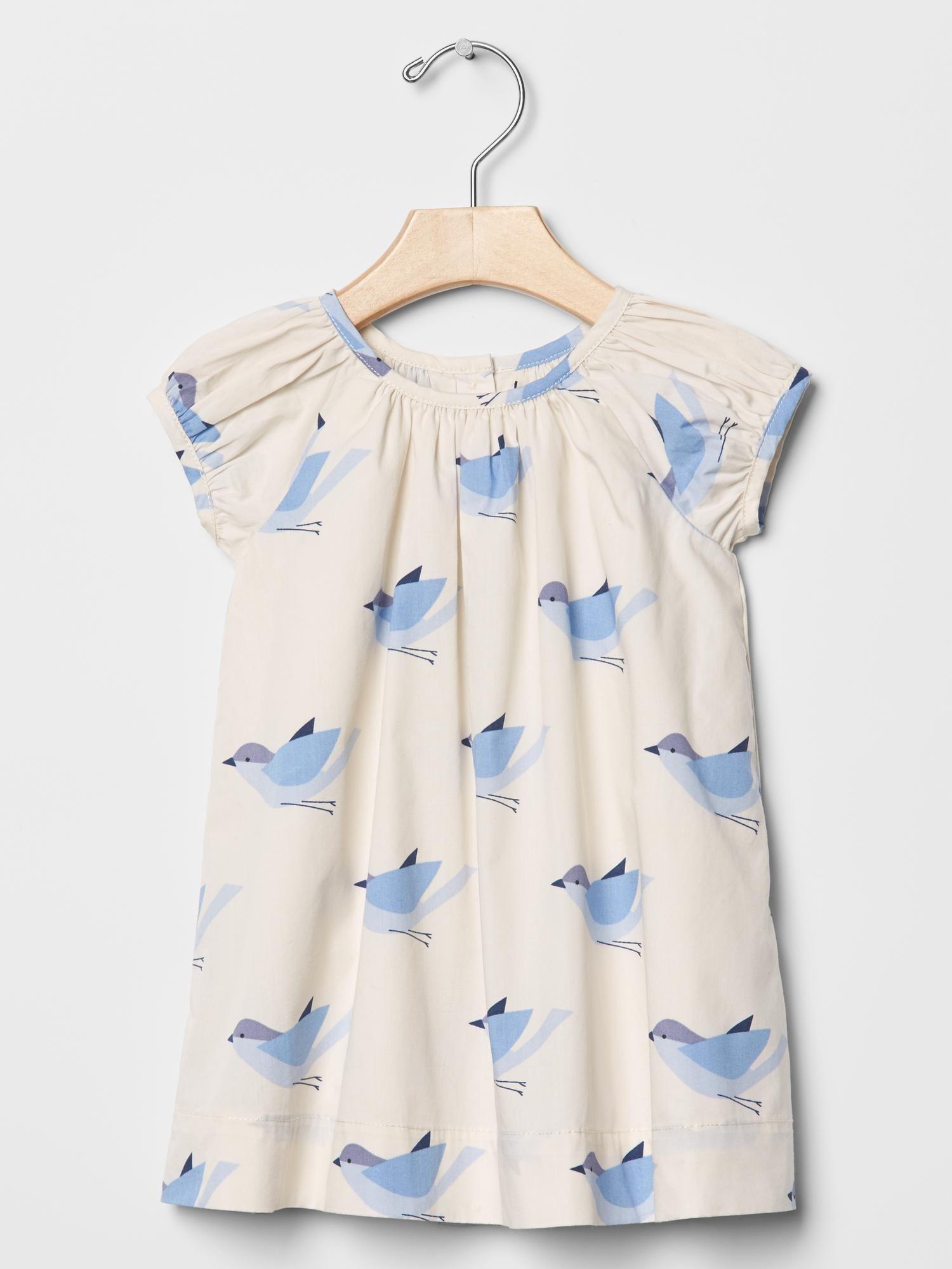 Gap Shirred bird dress Lola ❤