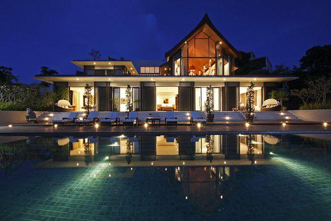 Philippe Starck Interiors In Thailand Phuket Villa House
