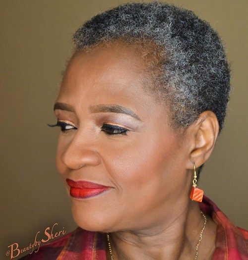 50 Most Captivating African American Short Hairstyles Natural Hair Styles Short Grey Hair Short Hair Styles African American