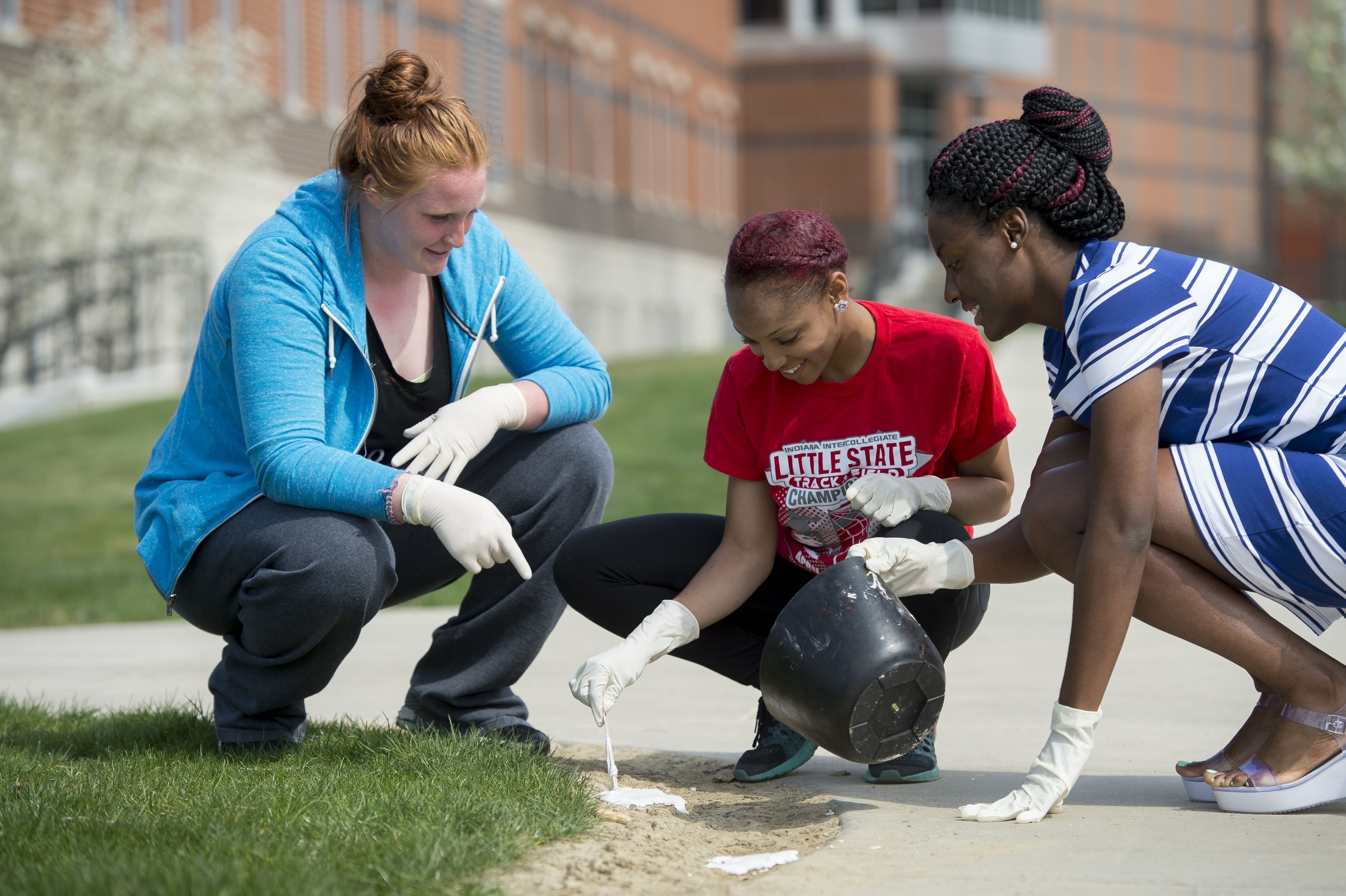 Collecting Samples For A Criminal Justice Class