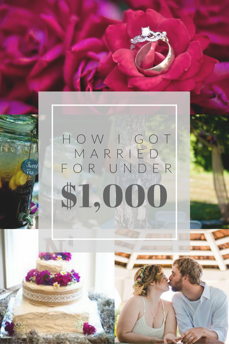 How I Got Married for Under $1,000   Wedding reception on ...