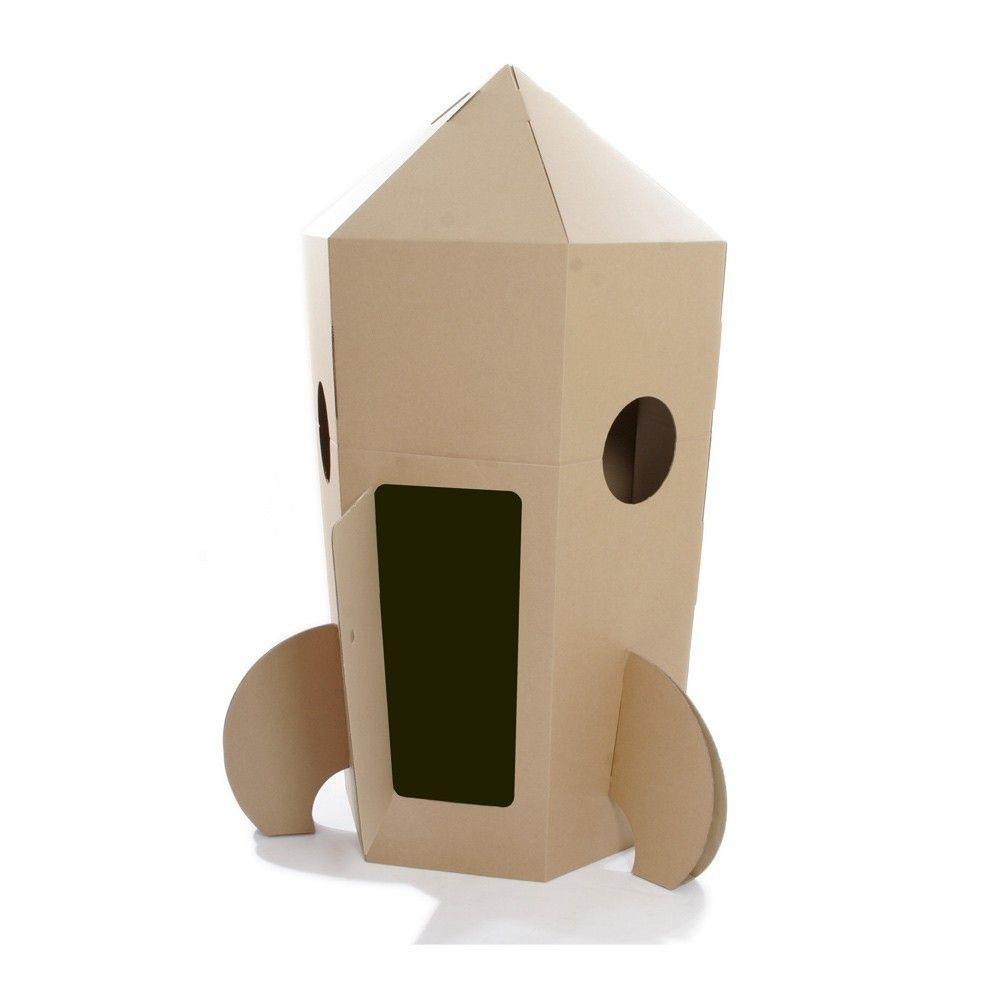 Paperpod Rakete Aus Karton 3900 Karton Basteln Rakete