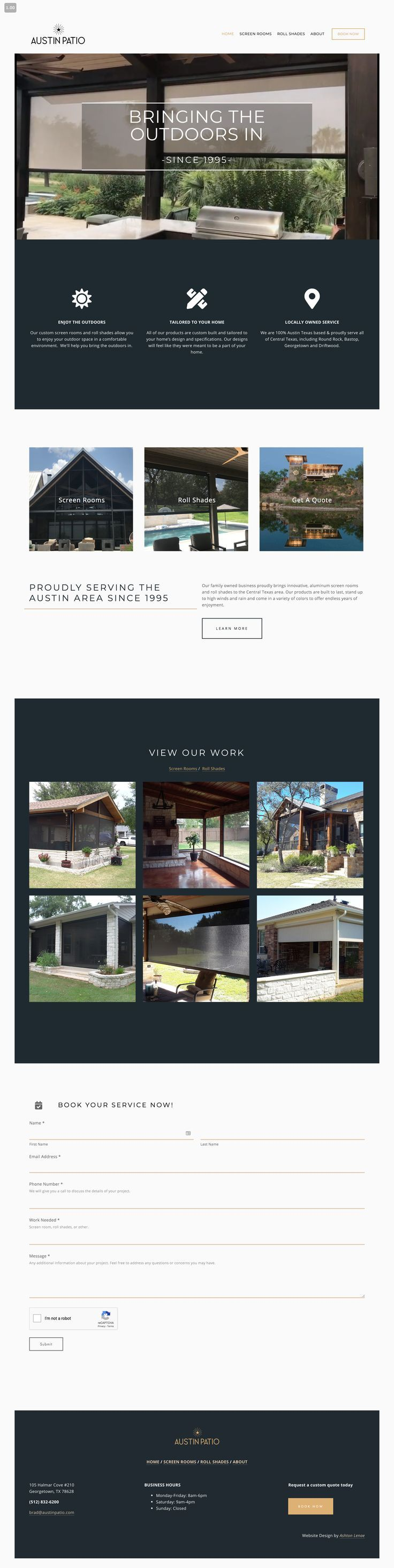Brand And Website Design For Austin Patio Elegant And Masculine Branding Brand Design For L Blog Design Inspiration Brand Board Design Web Development Design