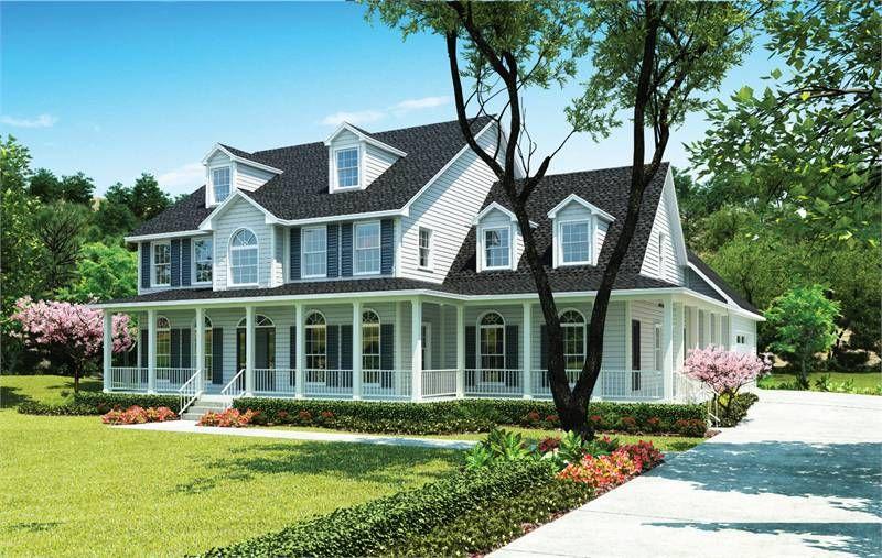 The Hanover W Garage A Custom Home Plans House Plans Custom Home Builders
