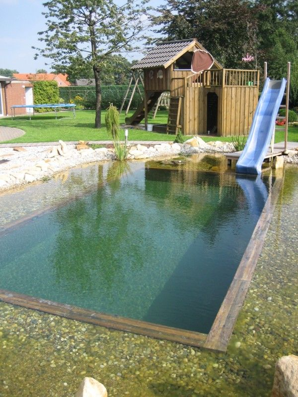 oase swim pond totally would put this in my home someday hill landscaping arborwood. Black Bedroom Furniture Sets. Home Design Ideas