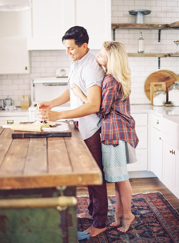Amazing Kitchen Engagement Shoot