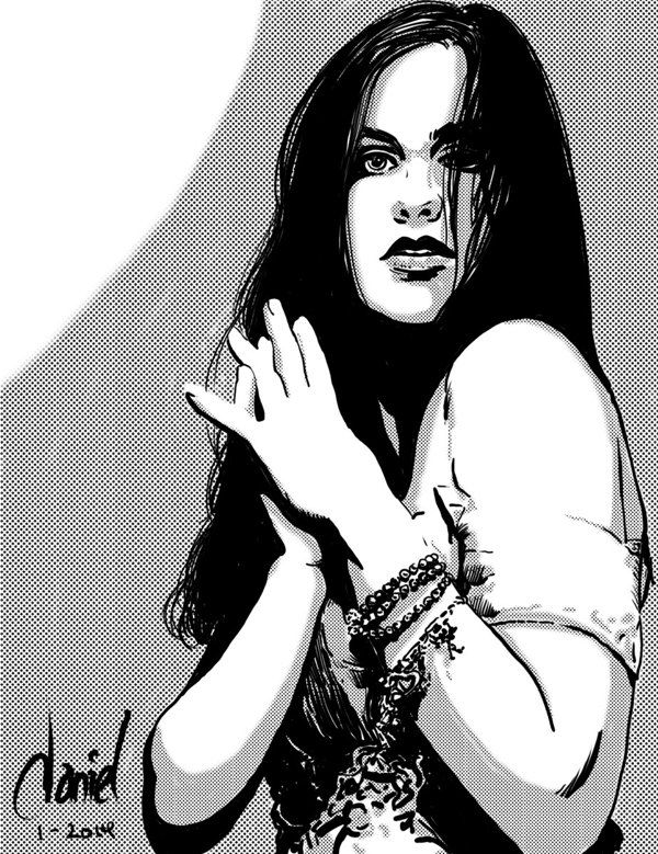 Quick Ink Studies by Daniel Presedo, via Behance