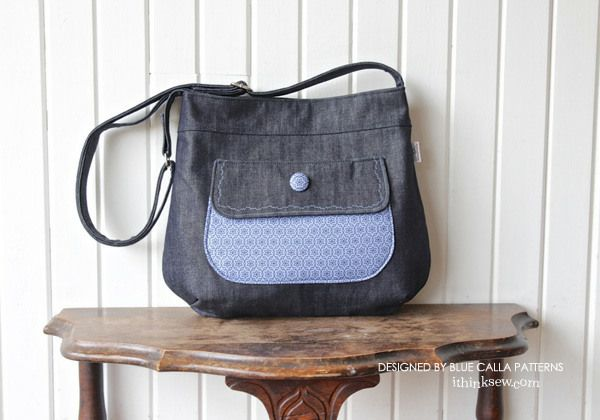 1d693daecae9 Thistle Tote Bag PDF Pattern - New Pattern Sale! % Off Bag Patterns To Sew