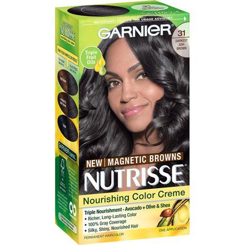 31 Darkest Ash Brown Garnier Nutrisse This Dye Made My Hair