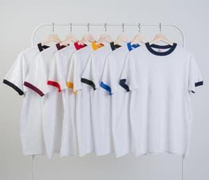 13c2a2f9 Kaos Polos Ringer - S M L XL - New States Apparel Premium Cotton ...