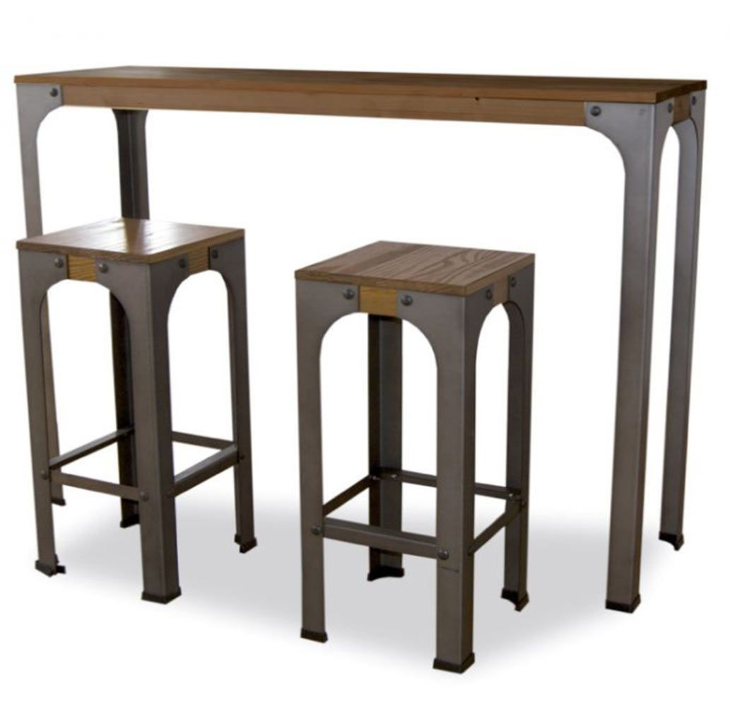 Restaurant Vintage Table Mange Debout Maino Table Haute Pour Bar