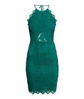 Damen | Neuheiten | H&M DE | Kleid spitze, Spitzenkleid ...
