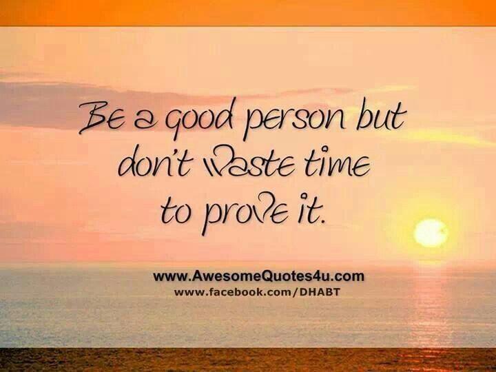 Don't prove it