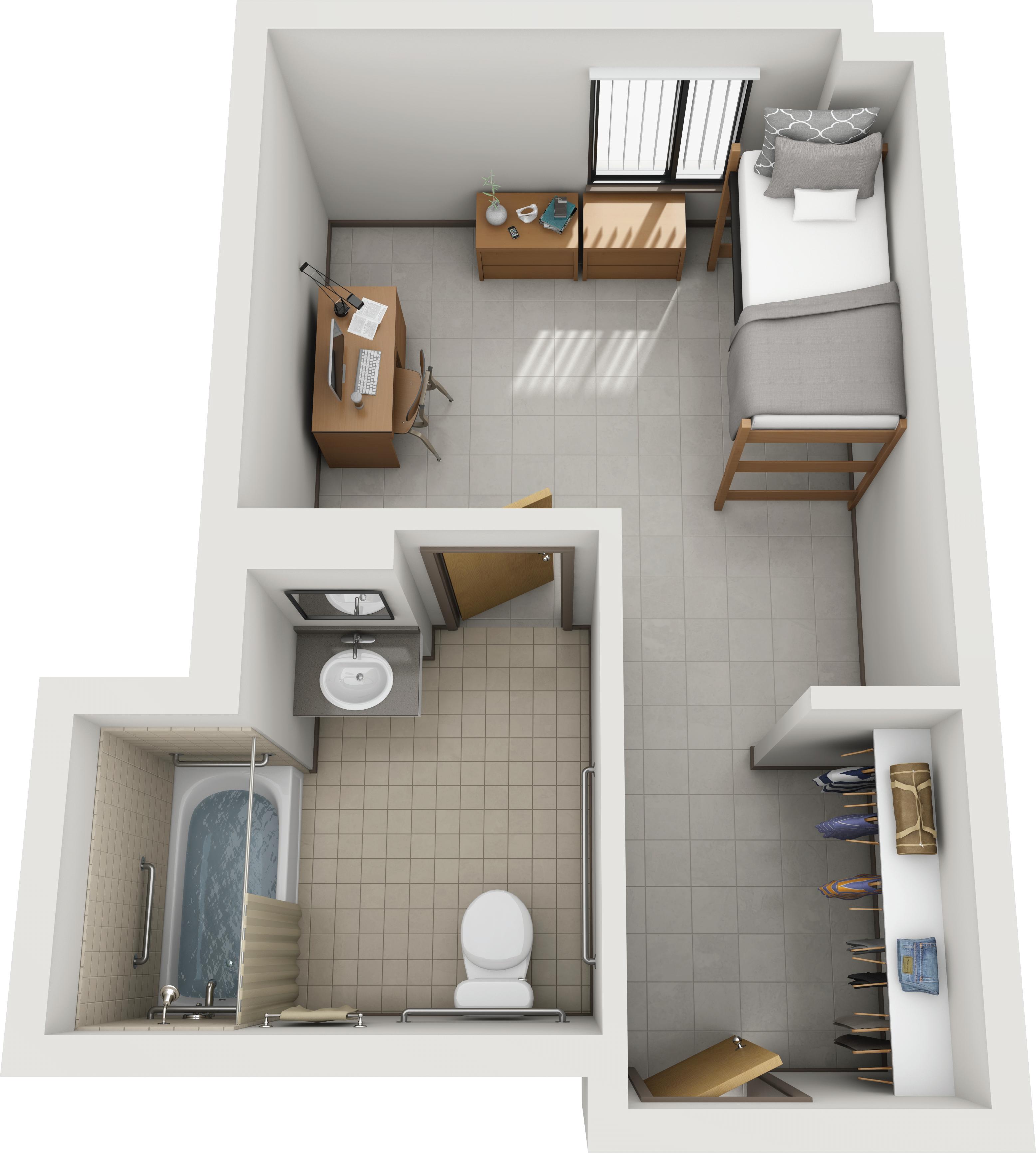 Pin On Dorm Floor Plan