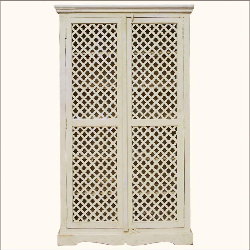 Lattice Cupboard Doors Farmhouse